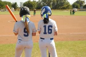 Mooreland - Leedey softball